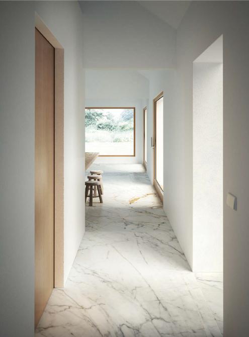 Porcelanato Marazzi Rectificado Marble Look Golden White Lux